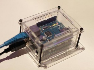 Arduino Ethernet Laser Case
