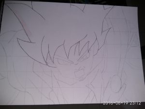 ballpoint drawing dragon ball 1