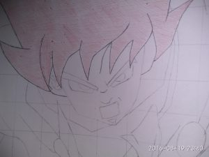 ballpoint drawing dragon ball 2