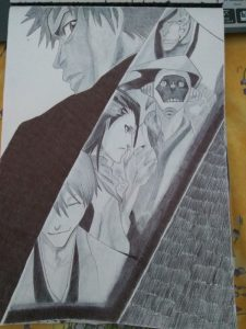 ballpoint drawing bleach 5