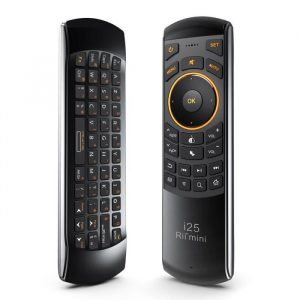 rii i25 mini clavier air mouse telecommande