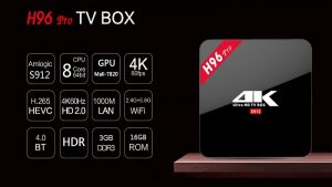 android tv h96 pro